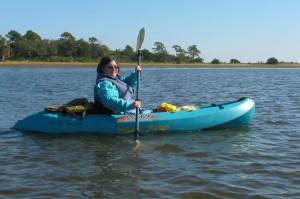 Sandra Gail Lambert Kayaking