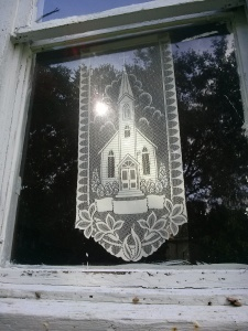 church window lace