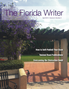 Florida Writer Magazine April 2015 Cover 300px