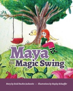 Maya and the Magic Swing Book Cover