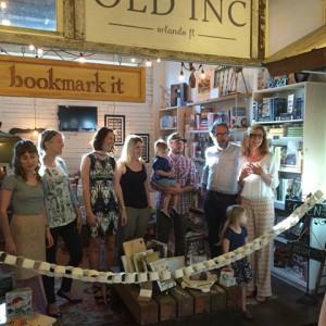 Ribbon cutting at Bookmark It