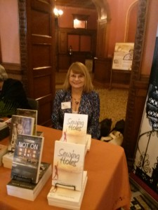 Darlyn at Florida Heritage Book Fest