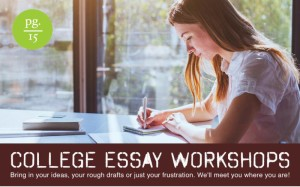 College Essay Workshops