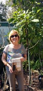 Charlene Edge with book