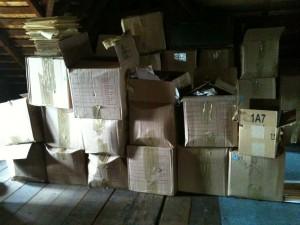 attic boxes