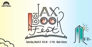 Jax Book Fest 2018 banner