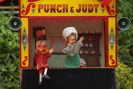 Punch and Judy Puppet Show | Darlyn Finch Kuhn